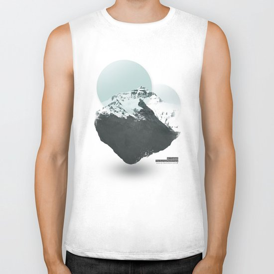 Mt. Everest - The Surreal North Face Biker Tank