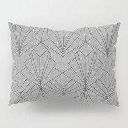 Art Deco in Black & Grey Pillow Sham
