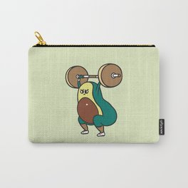 The snatch weightlifting Avocado Carry-All Pouch
