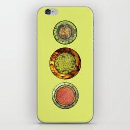 Food Mix Tris iPhone Skin