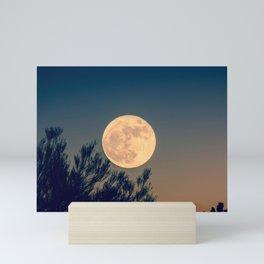 Full Moon Rising Mini Art Print