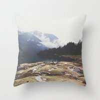 italy Throw Pillows featuring Italy by Laure.B
