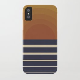 Retro Sunset iPhone Case