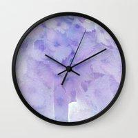 hydrangea Wall Clocks featuring hydrangea by clemm