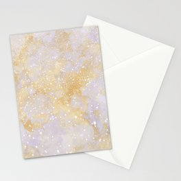 Modern abstract gold blush gray glitter marble pattern Stationery Cards