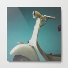 Cool Vespa Metal Print