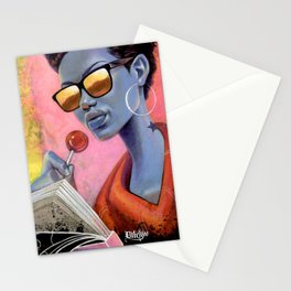 SUCKA FOR CASH Stationery Cards