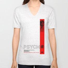 Hitchcock: Psycho Unisex V-Neck