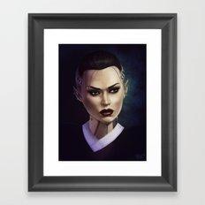 Mass Effect: Jack Framed Art Print