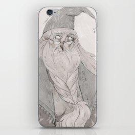 Dumbledore iPhone Skin