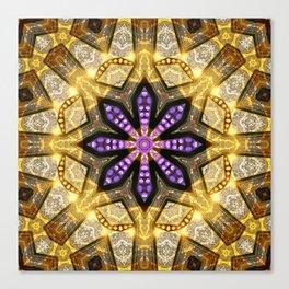 Purple Star Rustica Canvas Print