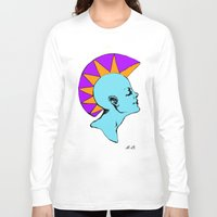 goddess Long Sleeve T-shirts featuring Goddess by Helena Bowie Banshees