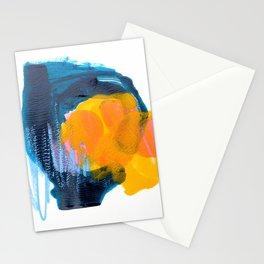 Orange & Blue Monotype Stationery Cards