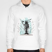 diver Hoodies featuring DIVER by taniavisual