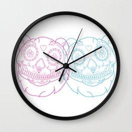 Prints for Pandas Wall Clock