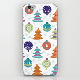 Christmas Ornaments iPhone Skin
