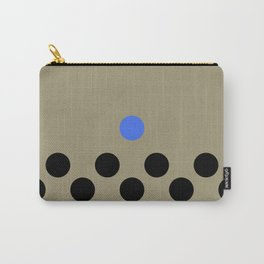 lonely poka dot. blue Carry-All Pouch