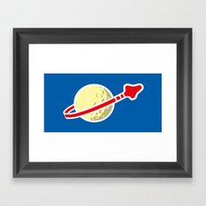 Space 1980 Framed Art Print