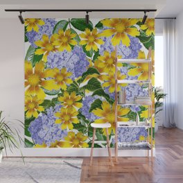 Yellow Spring Wall Mural