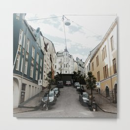 streets of Alesund Metal Print