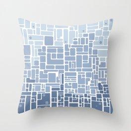 city planning Throw Pillow