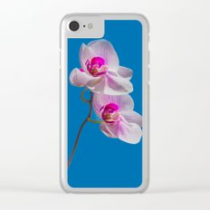 Orchid Clear iPhone Case