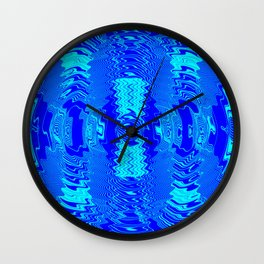 Wetlight pattern Wall Clock