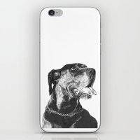 great dane iPhone & iPod Skins featuring Great Dane by onlypencil