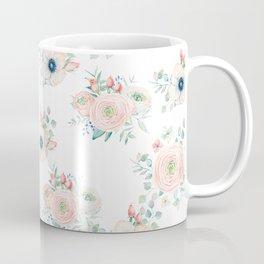 Dog Rose Pattern 2 Coffee Mug