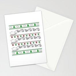 Biker Christmas Stationery Cards