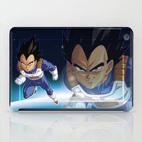 vegeta iPad Cases featuring Vegeta by Neo Crystal Tokyo