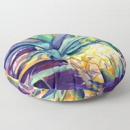 Kauai Pineapple 4 Floor Pillow