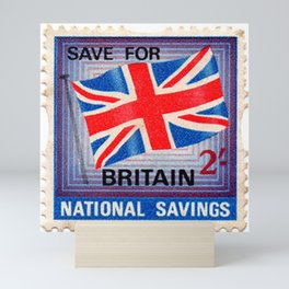 British War Savings Stamps Mini Art Print