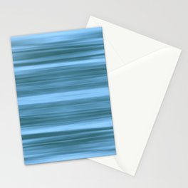Abstraction Serenity in Ocean Stationery Cards