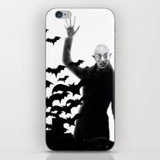 Nosferatu - the real bat iPhone Skin