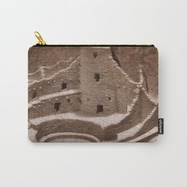 The Cliff Dwellers - Legends Of America Carry-All Pouch