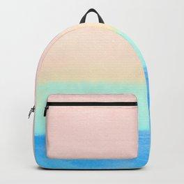 Retro Rainbow Painting Backpack