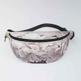 Shabby Chic Dreamy Pastel Lavender Pink Hydrangea Flowers Cottage Floral Prints Wall Art Home Decor Gift Decor Fanny Pack