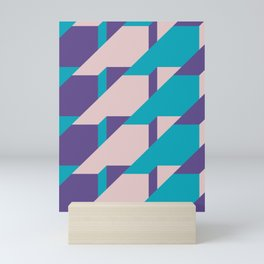 Abstract Glow #society6 #glow #pattern Mini Art Print