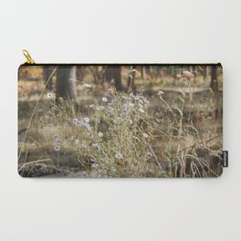 Fall Color with Flowers Carry-All Pouch