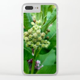 Just a Weed Clear iPhone Case