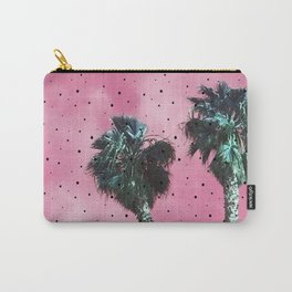 Polka Dot Palm Trees Carry-All Pouch