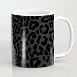 Goth Black Leopard Coffee Mug