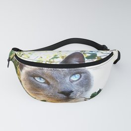 Siamese Cat in Tree Fanny Pack