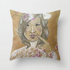 Kawaii Culture Throw Pillow