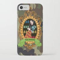 charli xcx iPhone & iPod Cases featuring TRUE ROMANCE - CHARLI XCX by A Fuckin' Teenage Tragedy