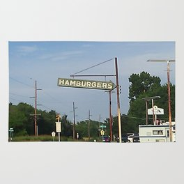 Hamburgers Rug