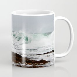 Green Wave Breaking Coffee Mug