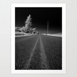 The road by Jean-François Dupuis Art Print