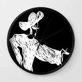 Grace and Manners Logo Wall Clock